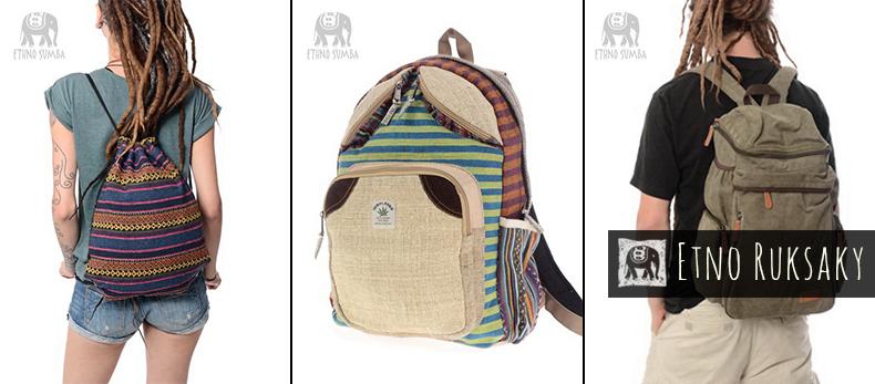 Kvalitné etno ruksaky