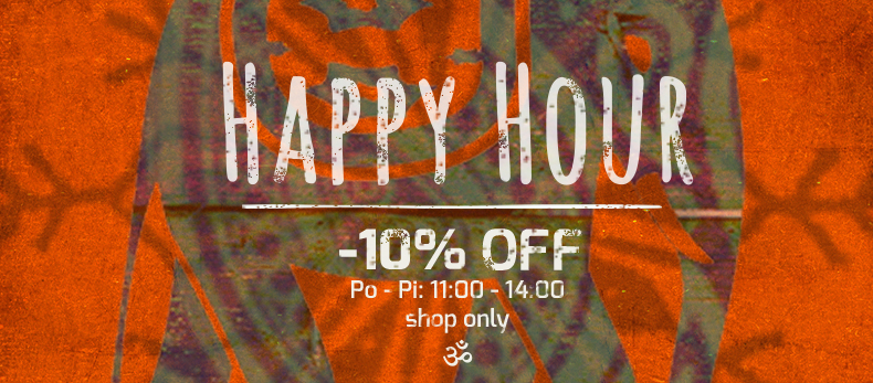 happy hour -10%